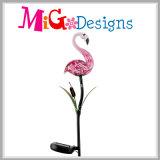 Творческий свет коль металла картины фламингоа освещения панели солнечных батарей