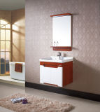 Vanité en céramique fixée au mur de salle de bains de type rural de Household&Hotel