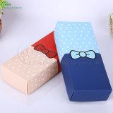 Коробки изготовленный на заказ картона бумаги печатание упаковывая для носок (KG-PX097)
