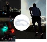 スポーツのフラッシュ軽い実行LEDの靴クリップ