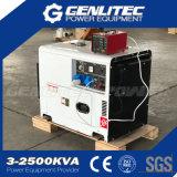 générateur diesel silencieux de moteur diesel de 5.5kw/6.0kw 13HP (DG7500SE avec DE188FAE)