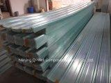 A fibra de vidro ondulada do painel de FRP/telhadura transparente do vidro de fibra apainela W171020