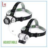 Le Headlamp СИД, 4 режима фара, батарея - приведенный в действие свет шлема