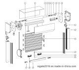 Insekt-Bildschirm/Fliegen-Bildschirm innerhalb der Rollen-Blendenverschlüsse, Mkroll System