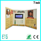 2.4、2.8、4.3、5、7の10.1inch TFT LCDスクリーンのビデオ挨拶状、ビジネス、招待、ビデオカード