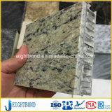 Viele Entwurfs-Steingranit-Aluminiumbienenwabe-Panel für Baumaterialien
