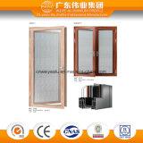 Porte grillagée en aluminium d'acier inoxydable de porte de tissu pour rideaux