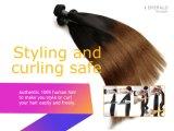 Grad-unverarbeitete brasilianische gerades Haar-Extensions-Menschenhaar-Extension 100% des Jungfrau-Haar-7A