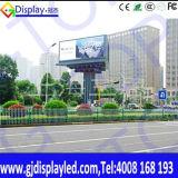 El usar al lado de la visualización de LED de poste del tráfico para la guía de las compras