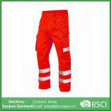 Calças reflexivas duráveis do Workwear da segurança