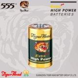 Батарея размера c наивысшей мощности тигра головная с Mercury 0%
