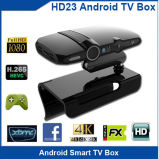 Kamera 5.0MP intelligenter FernsehapparatMedia Player WiFi Android 4.4 androider Kasten Fernsehapparat-HD23