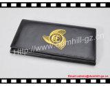 Carpeta de encargo grabada de las señoras de la insignia de la impresión del oro