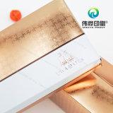 La impresión de lujo de diseño de alta calidad de la caja de papel rígido