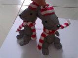 승진 선물을%s 빨강 백색 스카프 사려깊은 쥐 연약한 장난감