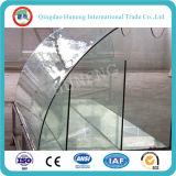 Vidro Tempered da parede do vidro do vidro da porta/tabela/cortina com ISO