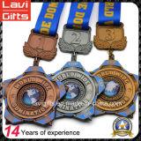 Fábrica de metal de encargo corrientes de los deportes medalla Deporte