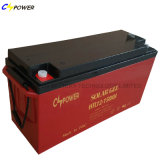 Batterie d'accumulateurs profonde de la batterie 12V200ah de gel de panneau solaire de cycle