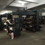 Бумажная печатная машина Flexografic цвета пленки 6 PE крена