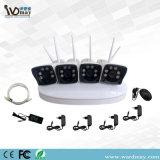 Sistema de seguridad privado de los kits del modo 4chs 1.3/2.0MP WiFi NVR del Wdm