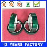 熱絶縁体の粘着テープペット高温緑ポリエステルシリコーンの粘着テープ、