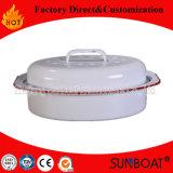 Utensilios de cocina Sunboat esmalte oval tostador de Artículos del Hogar