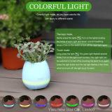 2017 새로운 선물 7개의 색깔 LED 빛을%s 가진 지능적인 음악 남비 Bluetooth 스피커