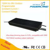 gestionnaire actuel de 720W 24~36V/continuel continuel programmable extérieur de la tension DEL