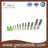 CNC機械のための固体超硬合金の平らな端製造所