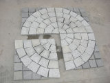 Cubestoneのためのファン網のペーバーの私道の自然な石