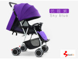 De regelbare Wandelwagen van de Baby van het Handvat/de Klassieke Kinderwagen van de Wandelwagens van de Baby
