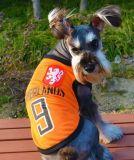 Alta ropa respirable visible al aire libre de los perros de animal doméstico del acoplamiento