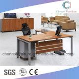 Угловойой стильный стол меламина самомоднейшей конструкции офиса