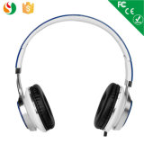 Custom Logo Print Fashion Stereo Wired Headphone