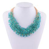 Juwelen van de Halsband van de Nauwsluitende halsketting van de Verklaring van het Kristal van de Laag van de manier de Multi
