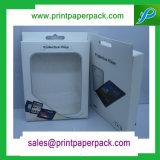 Het maat Mooie Met de hand gemaakte Glanzende Vakje van het Document van het Karton met het Plastic Vakje van het Document van het Parfum van het Venster
