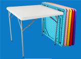 야영 이용된 80cm 정연한 테이블