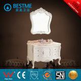 Шкаф зеркала ванной комнаты дуба материальный от Китая (BF-8071)