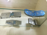 Alta qualidade Semi-Circinal 90 braçadeiras endurecidas porta do chuveiro