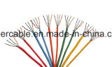 Cable inundado precio barato caliente UTP Cat5e de la red de la venta con el paso y la inundación de la platija