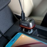Заряжатель автомобиля USB Anker 42W 2-Port с быстро обязанностью 3.0