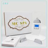 Nu Skin Galvanic Microcurrent SPA Massager para dispositivo de redução de celulite 3 Cabeças opcionais Display LCD Cuidados com a pele Cuidados com a pele Cuidados com a pele