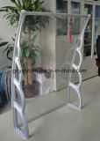 Großes Polycarbonat-Plastiktür-Kabinendach, Sun-Farbton-Fenster-Markise (YY1500-H)