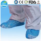 Coperchio medico non tessuto a gettare del pattino di sicurezza, anti coperchio del pattino di slittamento dei pp