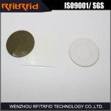 Del Hf 13.56MHz pequeña NFC etiqueta del metal anti