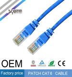 Cable del gato 6 de la cuerda de corrección de la alta calidad CAT6 del precio de fábrica de Sipu