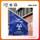 Digital-Drucken-Polyester-Spanien-Auto-Markierungsfahne (HYCF-AF006)