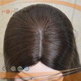 Parrucca superiore di seta di colore del merletto della parte anteriore di lunghezza naturale di Short