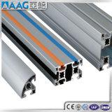 Borde estructural de aluminio / aluminio y perfil de esquina y riel para armario / mueble