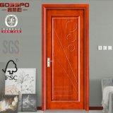 Puerta de madera inter de la puerta de Paywood del cuarto de baño (GSP8-003)